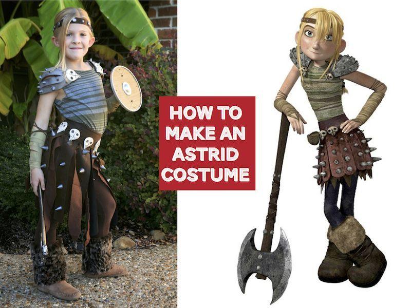 How To Make An Astrid Costume Kids Viking Costume Astrid Costume Vikings Costume Diy