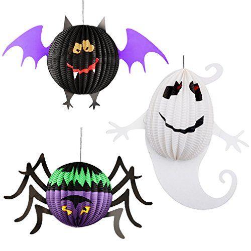 DIY Tutorial DIY Halloween / DIY Hanging Ghosts - Bead&Cord