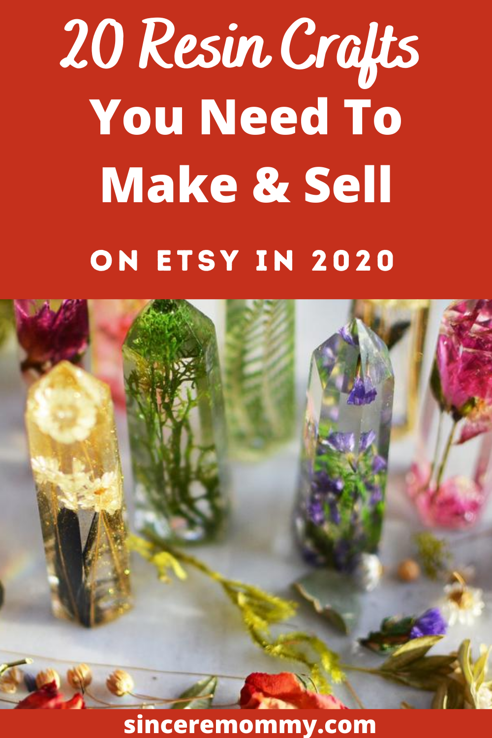 20 Resin Crafts You Need To Make & Sell On Etsy In