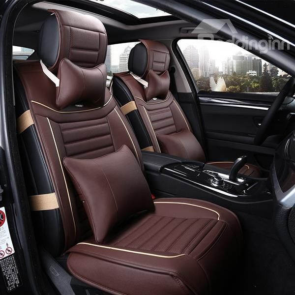 Casual Business Style Comfortable Design Leather Universal Car Seat Covers Car Seats Carseat Cover Seating