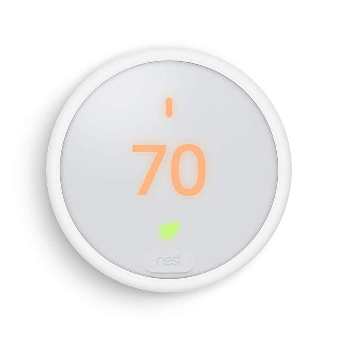 Google T4000es Nest Thermostat E Smart Thermostat White Amazon Com Google Nest Thermostat Nest Thermostat Google Nest