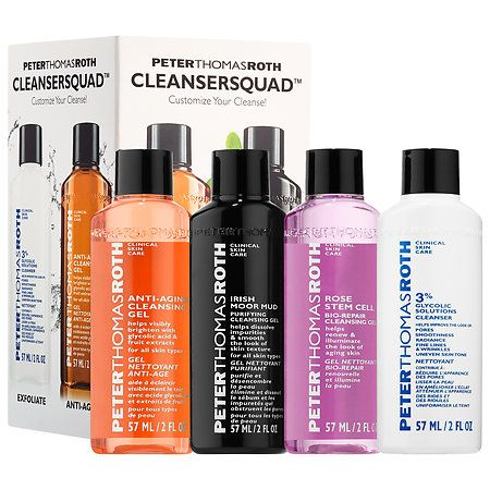 Cleansersquad Peter Thomas Roth Sephora Peter Thomas Roth Cleansing Gel Glycolic Cleanser