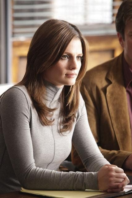 Stana Katic In Castle Close Encounters Stana Katic Hair
