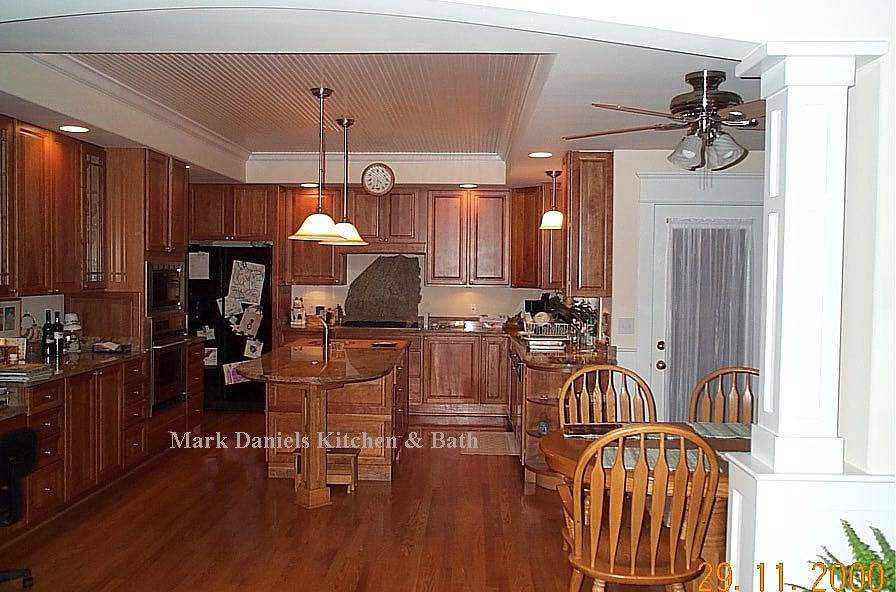 Beadboard Ceiling Inset Cheap Kitchen Remodel Condo