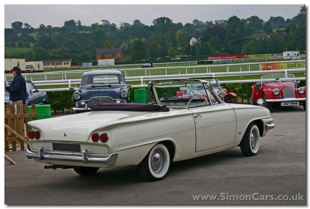 Classic Fords Ford Consul Classic Capri Convertible Rear Ford