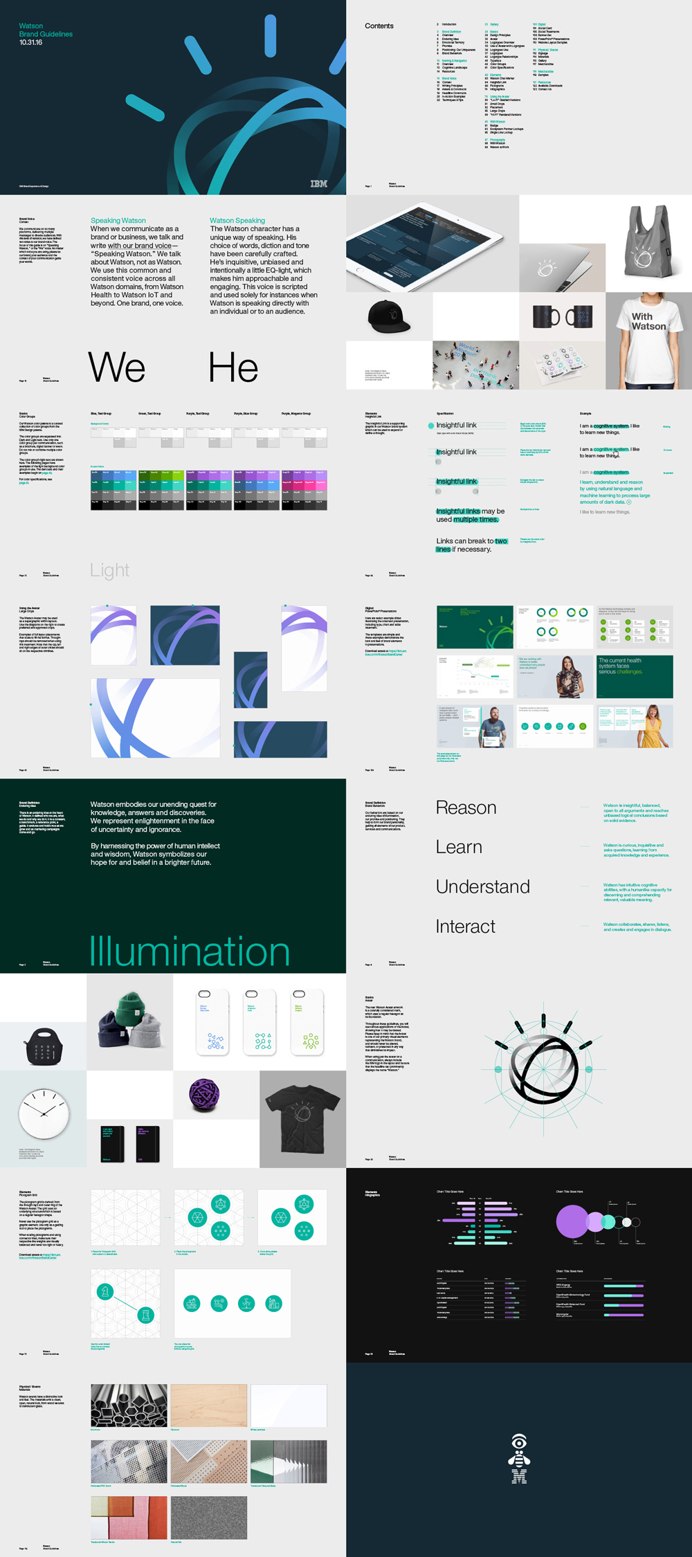 Brand New New Logo and Identity for IBM Watson done In