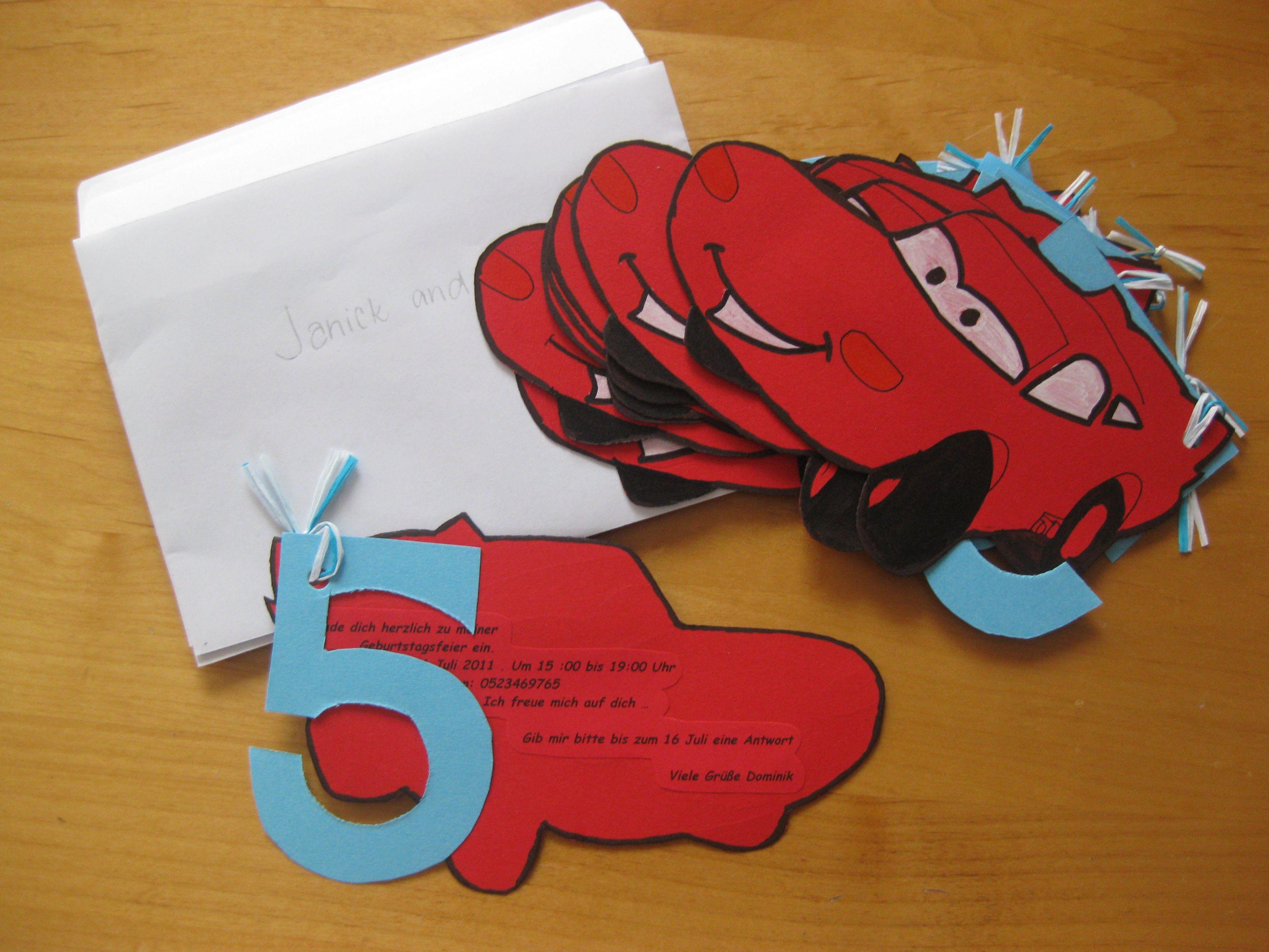 Einladungskarten 7 Geburtstag Basteln Einladung Zum Geburtstag