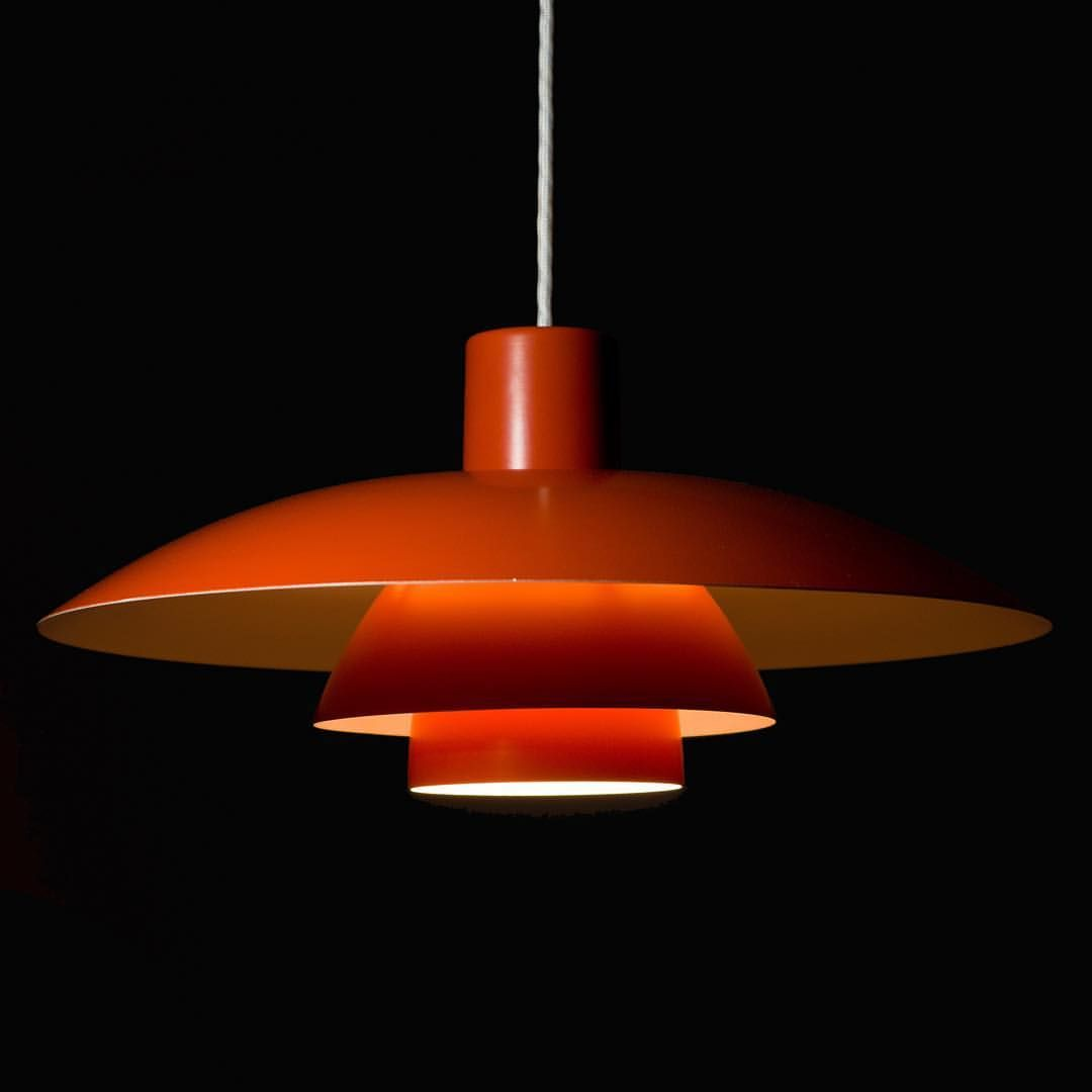 iconic lighting. Iconic Light By Poul Henningsen For Louis Poulsen, The PH 4/3. This Is An Early Edition Of Lamp, Original Paint And In Near Perfect Condition. Lighting