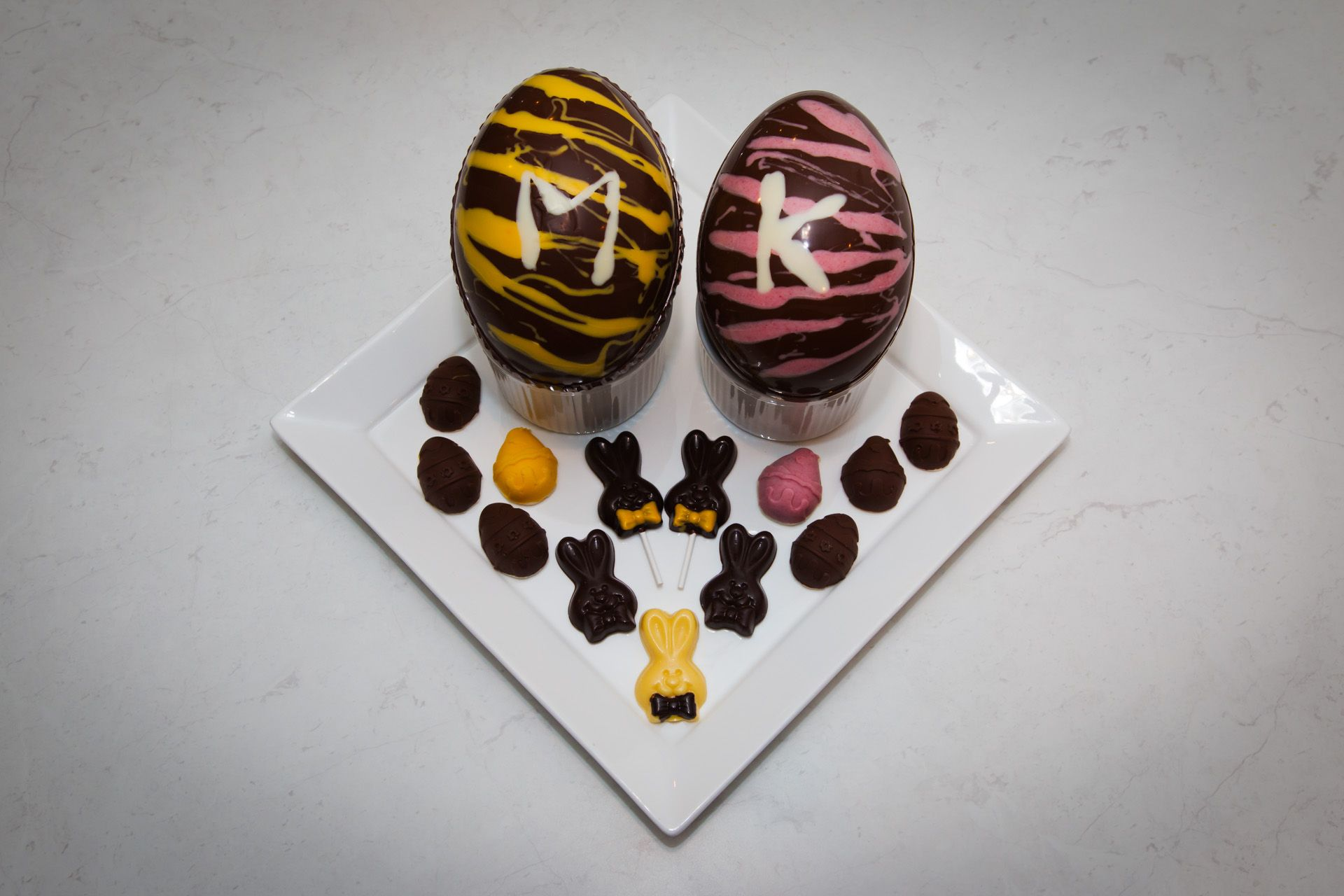 Homemade Easter Eggs for my girls: including Marbled Chocolate Eggs ...