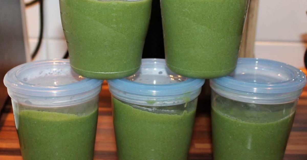 Spinat Zucchini Brei Mit Hahnchen Rezept Zucchini Gesunde Getranke Fur Kinder Babynahrung