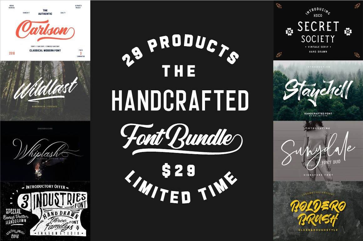 Designers! Check out this amazing font bundle – it has