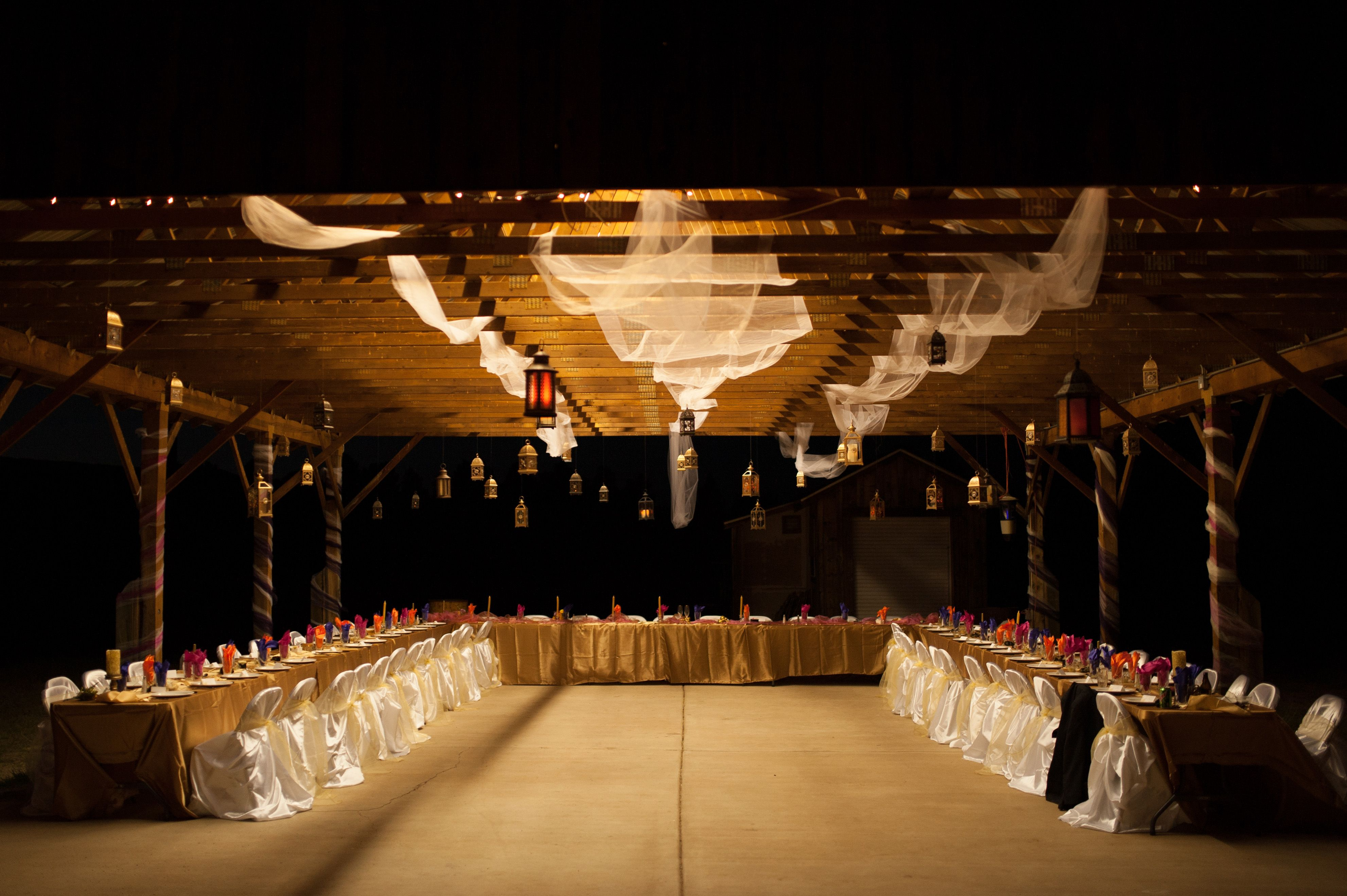 Picnic Shelter By Day Magical Wedding Reception By Night Http