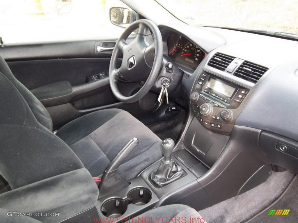 cool honda accord 2005 lx interior car images hd black. Black Bedroom Furniture Sets. Home Design Ideas