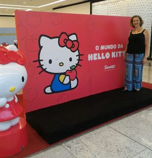 MãeLiteratura: Hello Kitty no Cantareira Norte Shopping!!