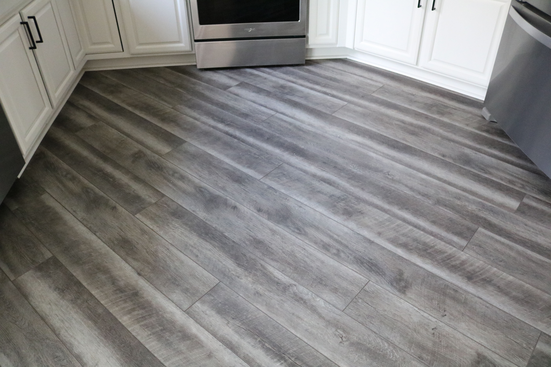 Lvt Laid On An Angle To Create A Unique Flooring Design Unique