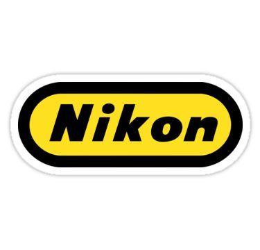 Classic Nikon Tribute Logo Circa 1965 Sticker Nikon Logo Nikon Camera Drawing