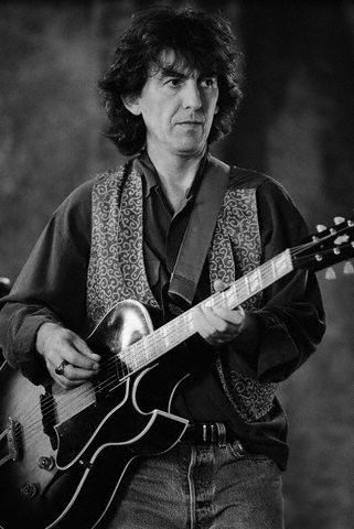 Was George Harrison's guitar playing technically on par ...