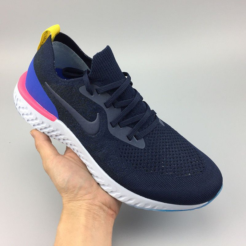 6c94025c095e Nike Epic React Flyknit Men s Running Athletic Sport Classic Gym Sneakers