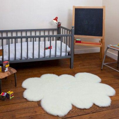 Great Kinderzimmer Teppich Wolke wei Wei Pilepoil