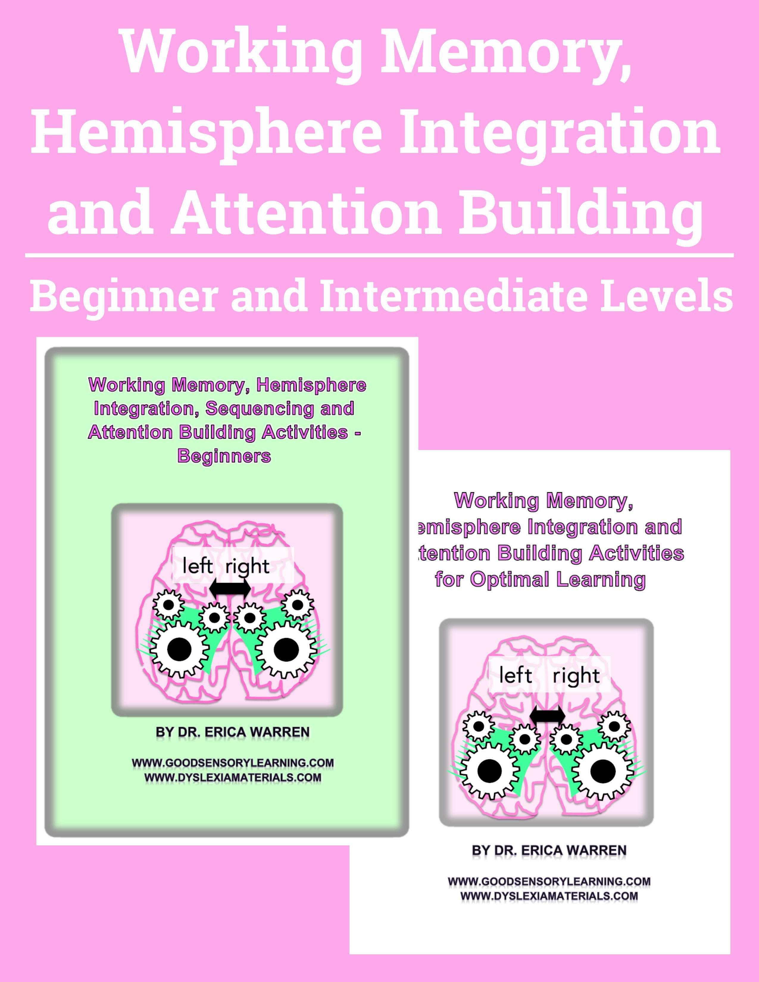 Working Memory Hemisphere Integration And Attention