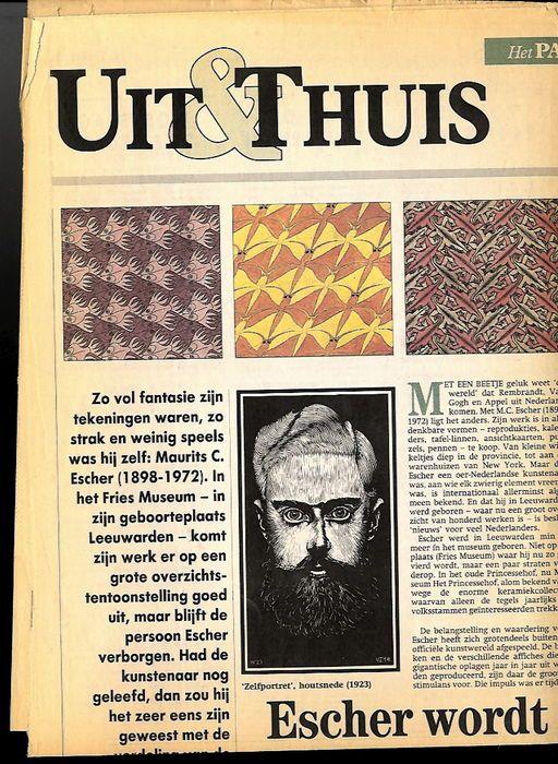 M. C. Escher; Lot met 3 uitgaven - 1988/1992