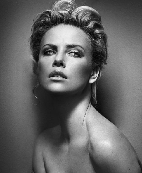 """Charlize Theron: """"The people who inspire me are the ones who just live life and live it in a way that's good-natured. Do unto others what you want done unto yourself."""""""