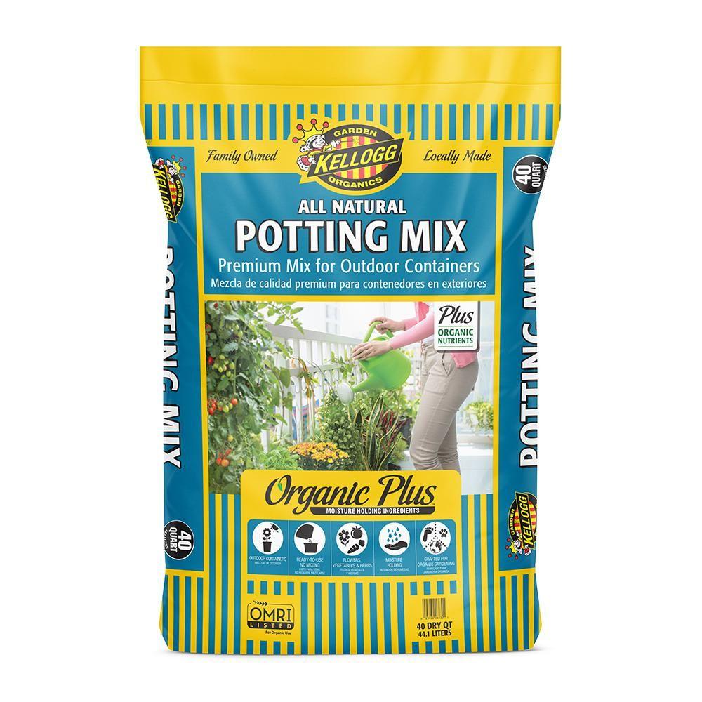 Kellogg Garden Organics 40 Qt. All Natural Premium Outdoor