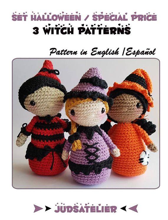 Halloween Amigrumi Set