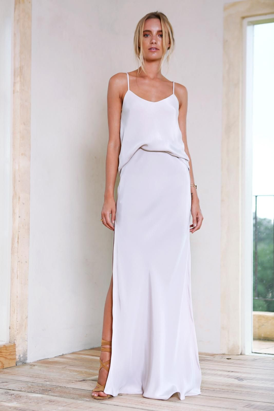 Belle springsummer occasion wear grace loves lace la nouvelle the belle long silk cami is the perfect minimalist wardrobe staple that every girls needs in her wardrobe for any am or pm engagements ombrellifo Image collections