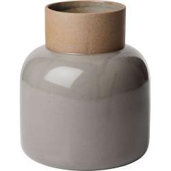 Jar Vase M moss grey
