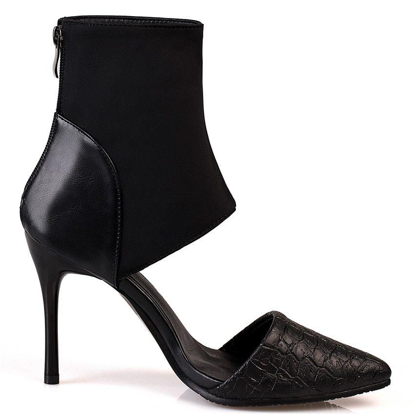 cc925f74ff1 Peep Toe Women High Heel Sandals Shoes Woman High Heels Ladies Gladiator Sandals  Pumps Small Plus