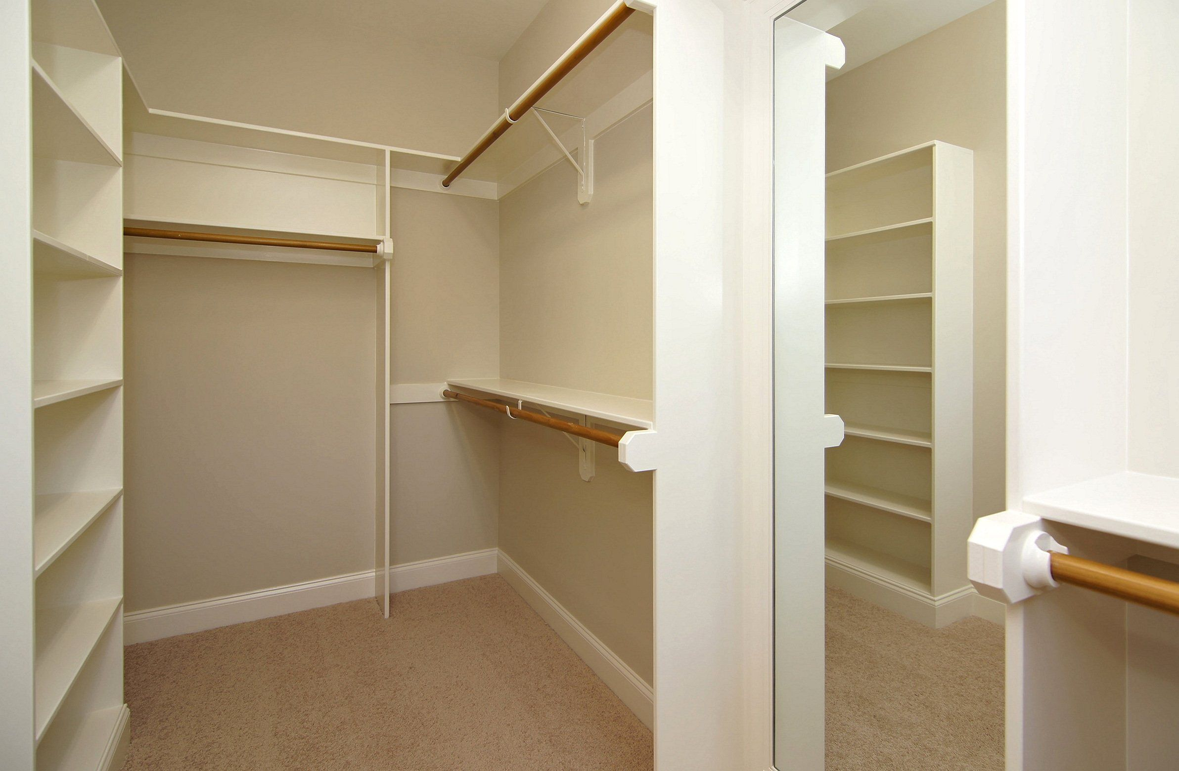 The Carmichael built by Homes By erson master walk-in closet ...
