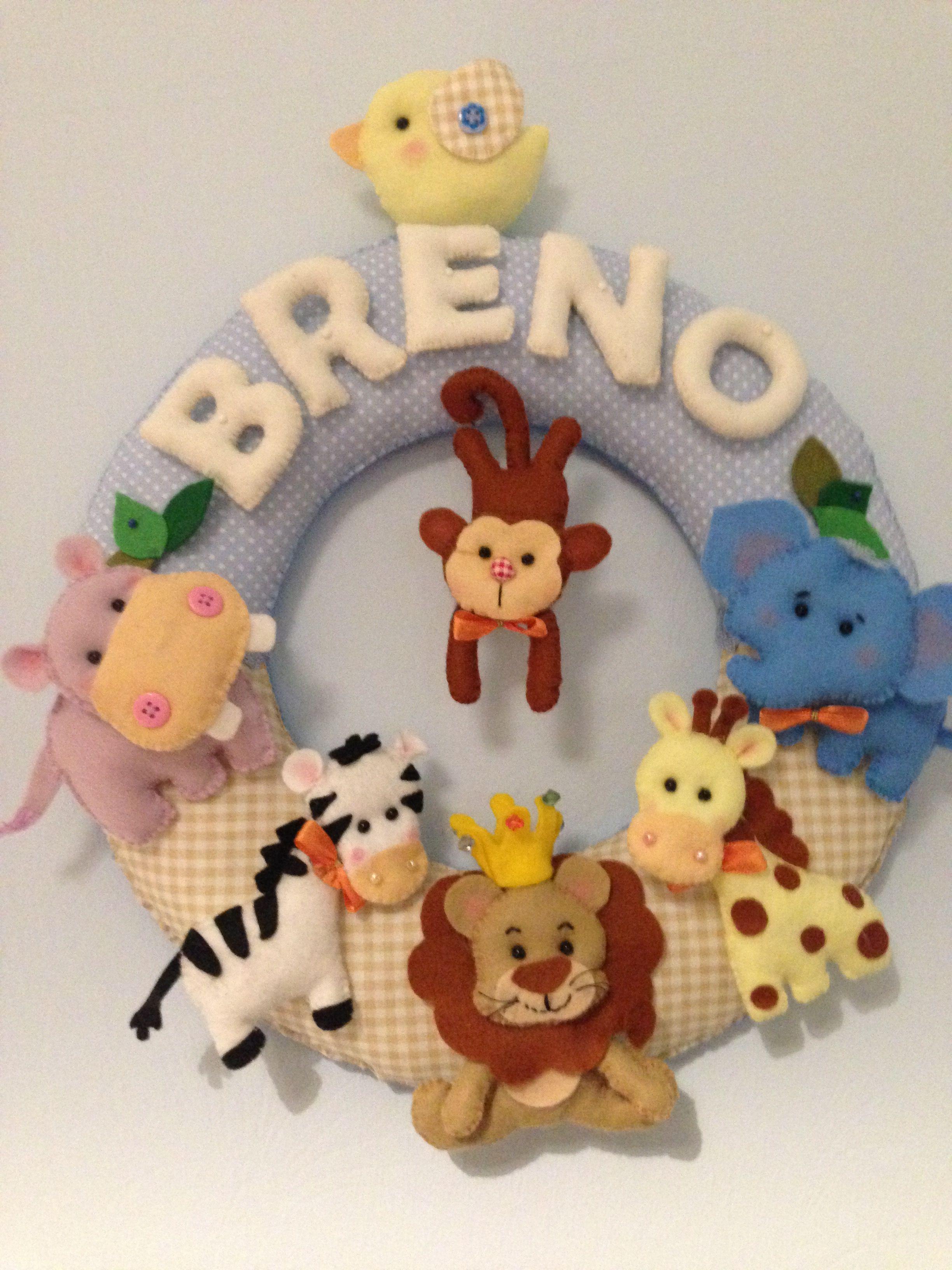 deko kinderzimmer babyzimmer safari Decorações de