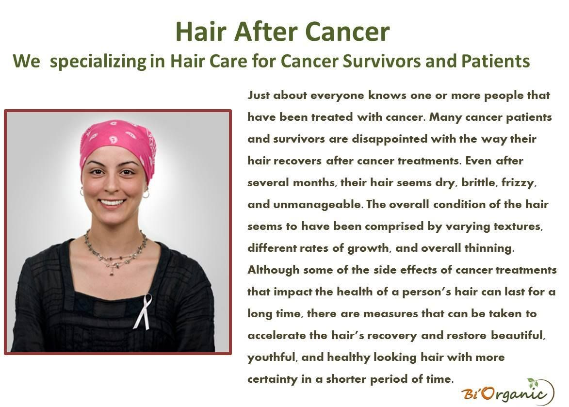 Hair after cancer specializes in hair care