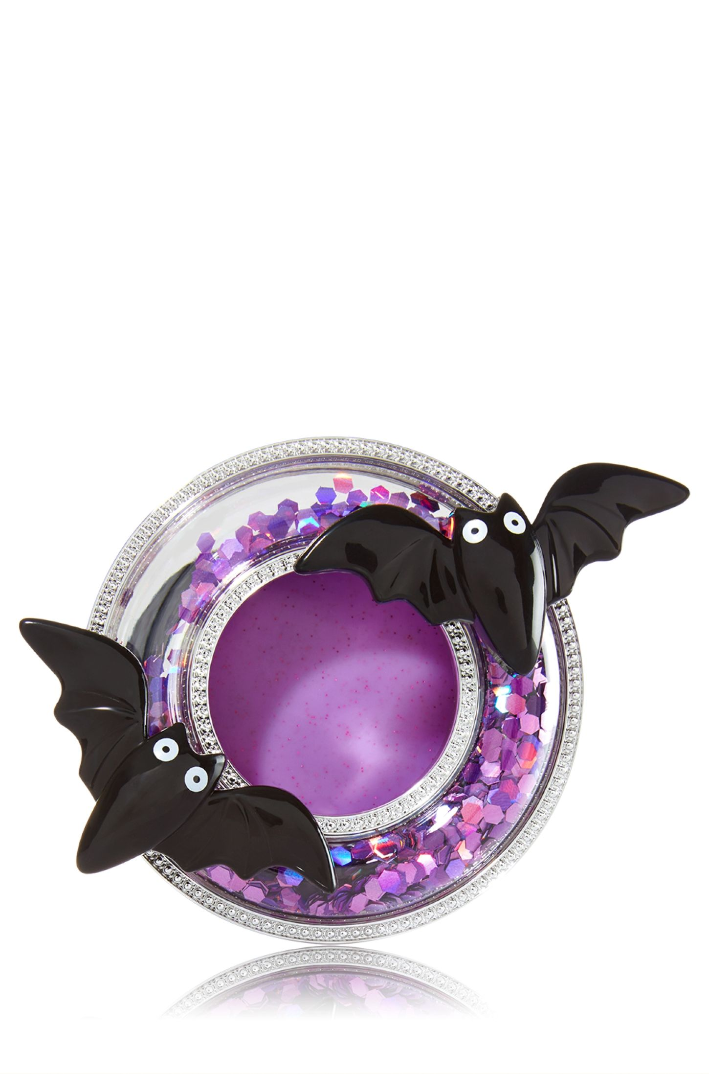 Bath /& Body Works Scentportable Purple Shiny Bow Holiday Ornament Limited