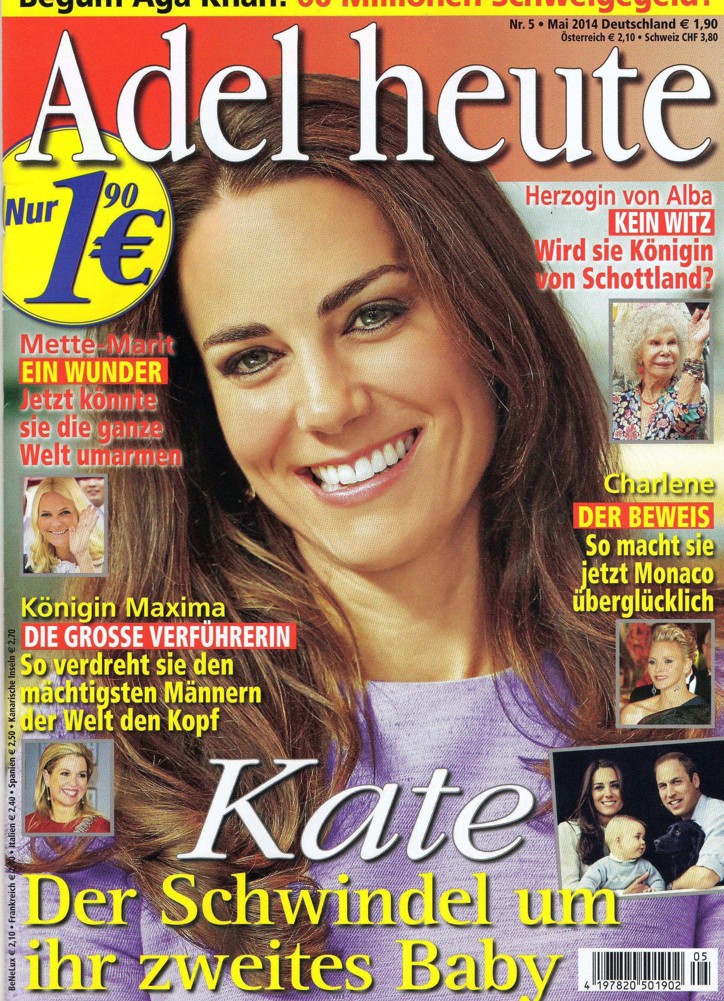 2014: Catherine von Großbritannien
