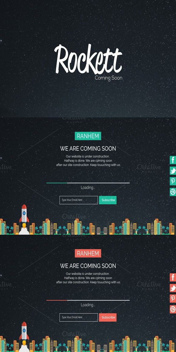 Pacific Responsive Admin Template (With images