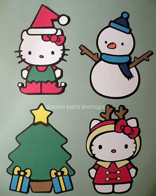 Cricut hello kitty christmas die cuts cricut pinterest hello hello kitty greetings cricut cartridge retired htf in crafts scrapbooking paper crafts scrapbooking paper pages m4hsunfo