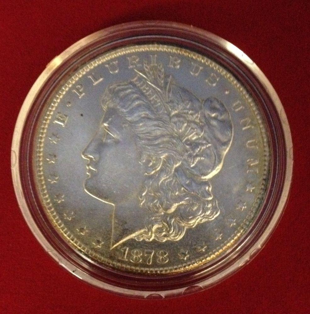 1878 United States Carson City CC Silver Dollar in