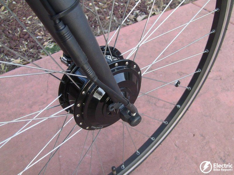 Pin On E Bike Kit Review 350 Watt Geared Front Hub Motor Lead