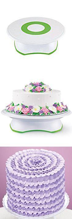 Cake Decorating Stand Wilton Trim-N-Turn Ultra Cake Decorating Turntable