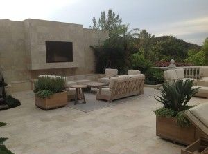 I love this nice looking patio from our general contractor in Los Angeles, CA.  The desert feel is so warm and rich.  I really like the idea of doing something like this in my backyard as well.