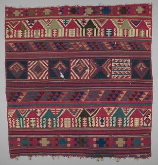 Early 20th Century Northern African Kilim Style Rug