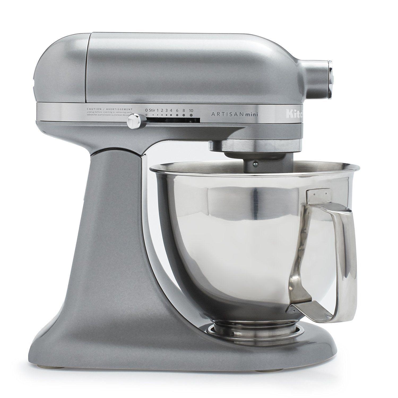 KitchenAid Contour Silver Mini Mixer Review | Chef\'s Stand Mixer ...
