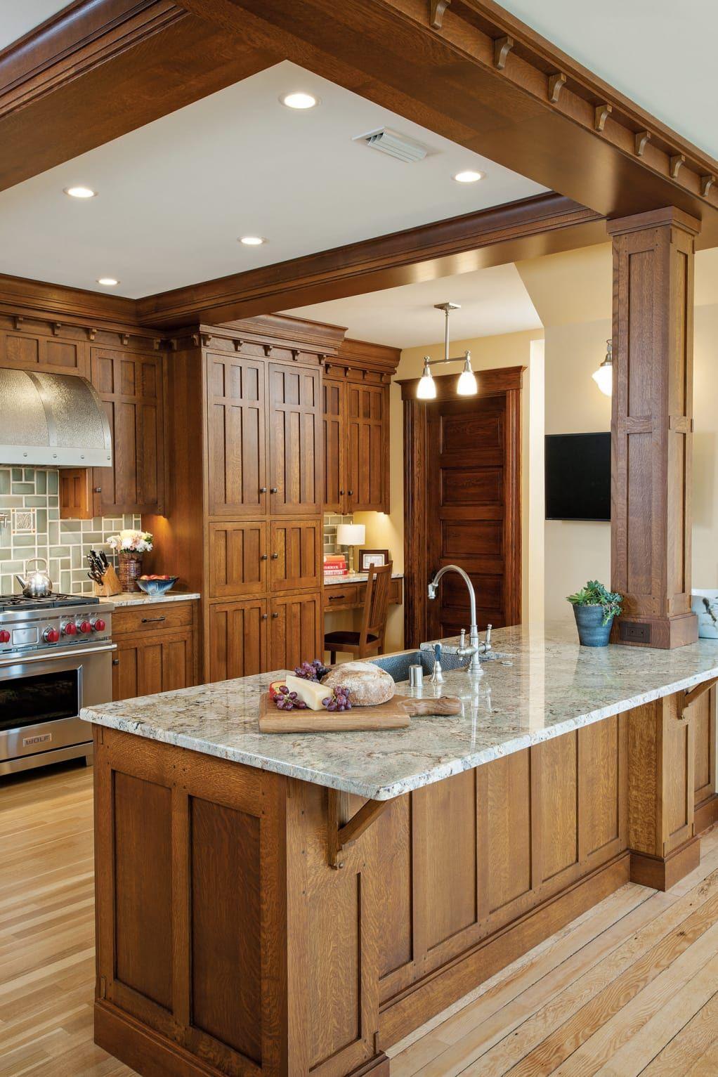 Craftsman Kitchen Craftsman Style Kitchens Craftsman Style Kitchen Kitchen Styling