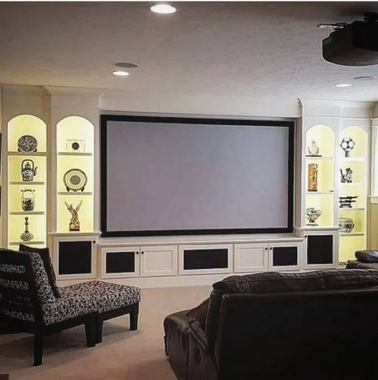 21 Incredible Home Theater Design Ideas Decor Pictures: 90 Amazing Basement Design Ideas 81 In 2020