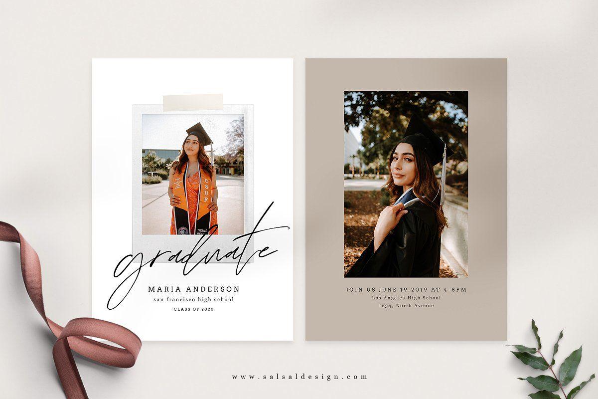 Senior Graduation Card Template Graduation Card Templates Senior Graduation Announcements Senior Graduation Cards