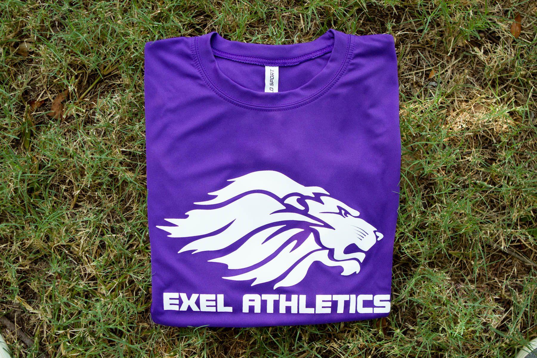 Exel athletics custom drifit tee get spirit gear