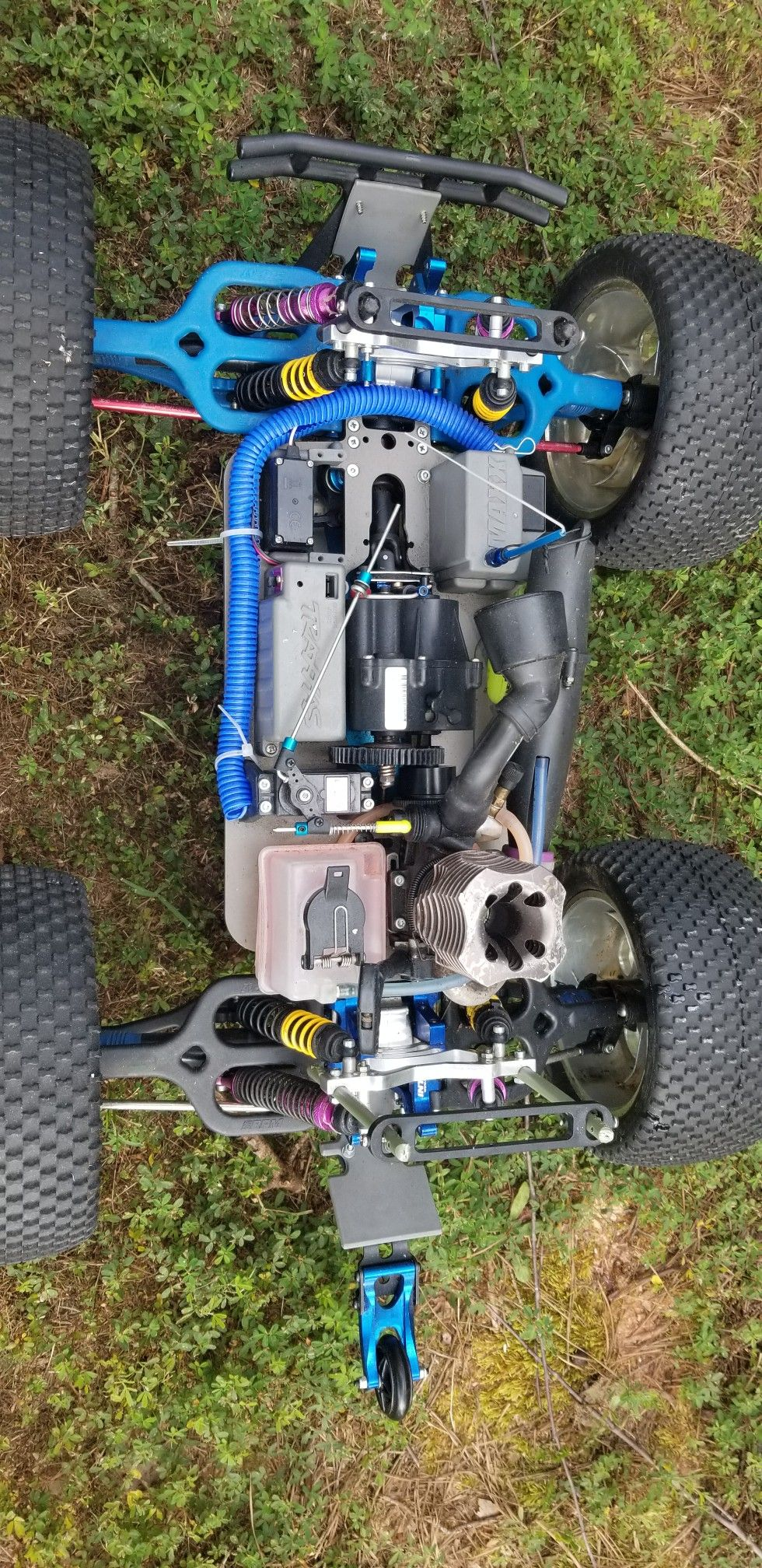 Custom monster maxx build all aluminum riffs metal gear