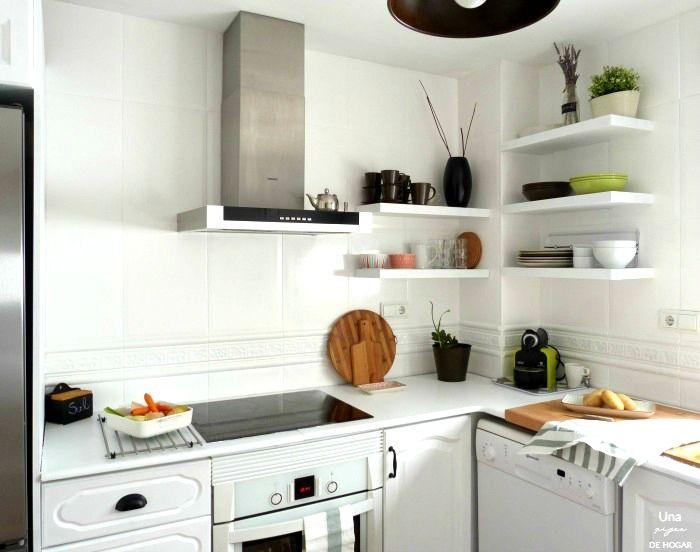 reforma de mi cocina sin obras antes despus cocina antes despus y pintura de pizarra